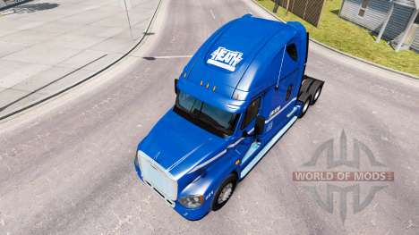 Skin Robert Heath on tractor Freightliner Cascad for American Truck Simulator