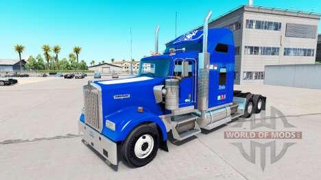 Skin Duke v1.03 on the truck Kenworth W900 for American Truck Simulator