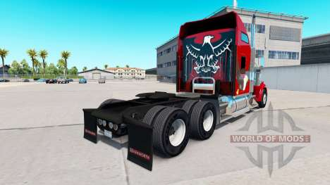 Skin Eagle on the truck Kenworth W900 for American Truck Simulator