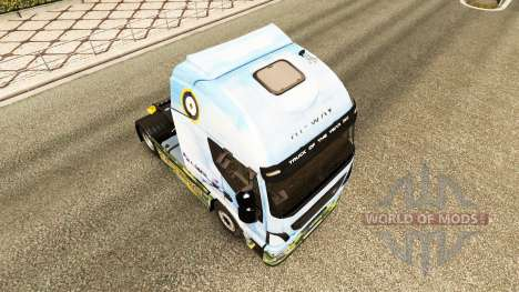 The skin of the Supermarine Spitfire on the truc for Euro Truck Simulator 2