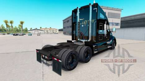 Skin Taylor on tractor Kenworth for American Truck Simulator