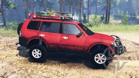 Mitsubishi Pajero 2006 for Spin Tires