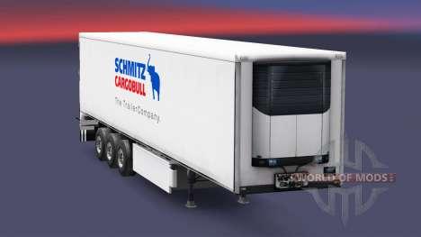 Semitrailer refrigerator Schmitz Cargobull for Euro Truck Simulator 2