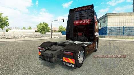 Umbrella Corporation skin for Volvo truck for Euro Truck Simulator 2