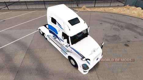 Skin Premiere for Volvo truck VNL 670 for American Truck Simulator