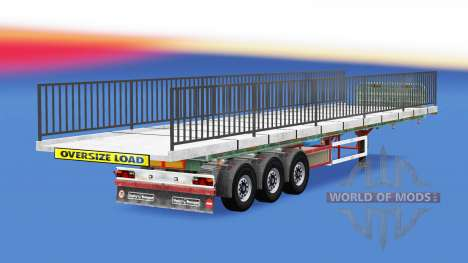 Semi-ground with the weight of the bridge elemen for American Truck Simulator