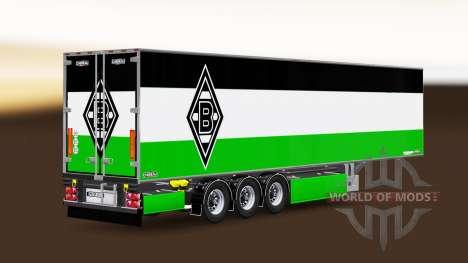Semi-Trailer Chereau Borussia Monchengladbach for Euro Truck Simulator 2