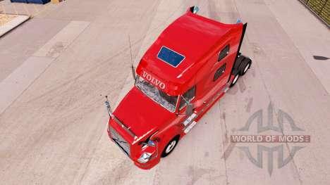 Volvo VNL 670 v2.0 for American Truck Simulator
