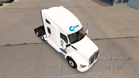 Celadon Trucking skin for Kenworth tractor for American Truck Simulator