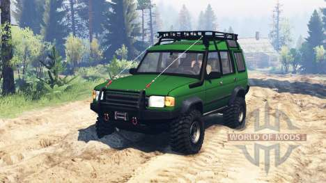 Land Rover Discovery v3.0 for Spin Tires