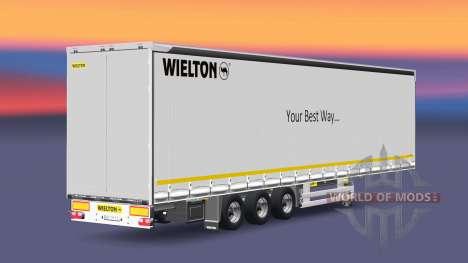 Semitrailer Wielton Your Best Way for Euro Truck Simulator 2