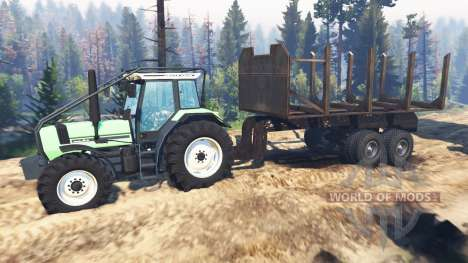 Deutz-Fahr AgroStar 6.61 v2.0 for Spin Tires