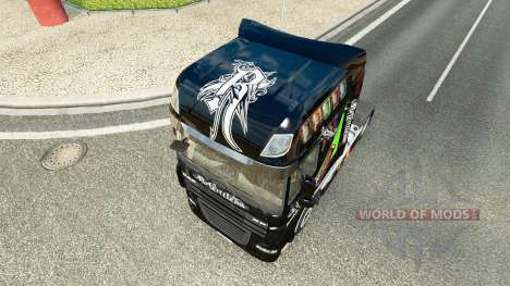 Relentless skin for DAF truck for Euro Truck Simulator 2