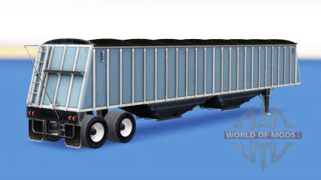 A collection of trailers with cargo for American Truck Simulator