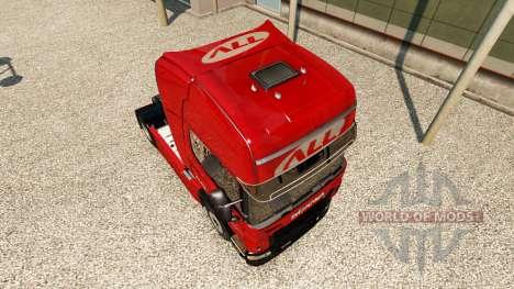 The America Latina Logistica skin for Scania tru for Euro Truck Simulator 2