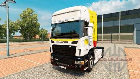 Skin Itapemirim on tractor Scania for Euro Truck Simulator 2