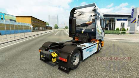 The Skin Of The Messerschmitt Bf.109 on the truc for Euro Truck Simulator 2