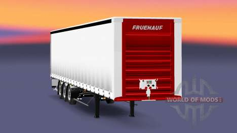A collection of trailers with different loads v3 for Euro Truck Simulator 2