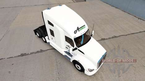 Skin at Arnold Transportation Kenworth tractor for American Truck Simulator