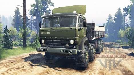 KamAZ-6350 Mustang v5.0 for Spin Tires