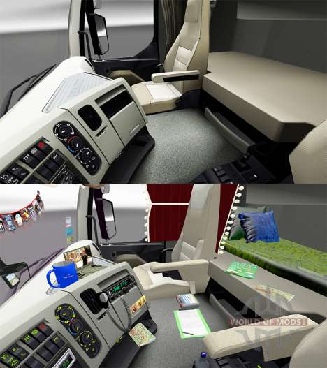 Accessories for the interior Renault for Euro Truck Simulator 2