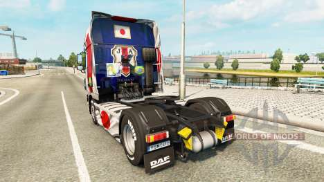 Skin Japao Copa 2014 for DAF truck for Euro Truck Simulator 2