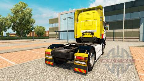 Skin Itapemirim on tractor Scania for Euro Truck Simulator 2