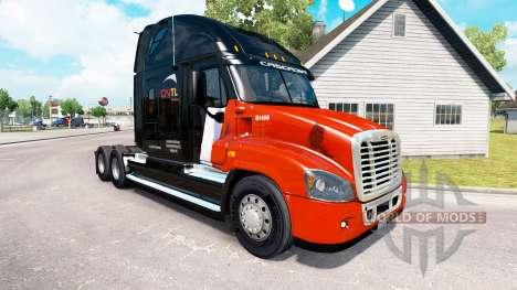 Skin CNTL on tractor Freightliner Cascadia for American Truck Simulator