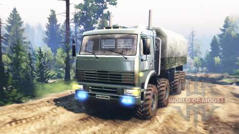 KamAZ-6560 [Muromets] v2.0 for Spin Tires