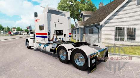 Skin Penner International for the truck Peterbil for American Truck Simulator