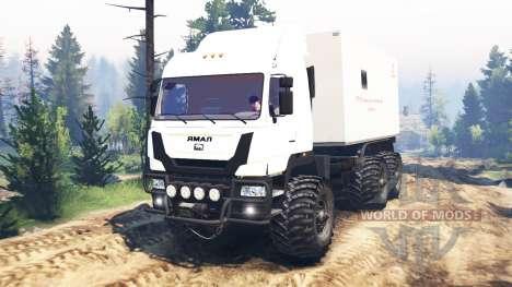 The Yamal-6 v2.0 for Spin Tires