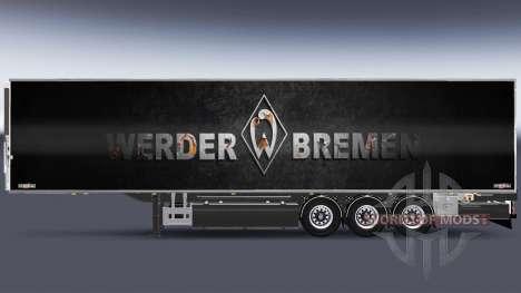 Semi-Trailer Chereau Werder Bremen for Euro Truck Simulator 2