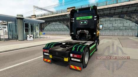 Skin Revada & de Keuster on tractor Scania for Euro Truck Simulator 2