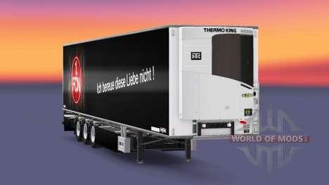 Semi-Trailer Chereau 1. FC Nurnberg for Euro Truck Simulator 2