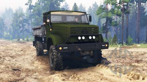ZIL-4327 [military] for Spin Tires