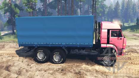 KamAZ-65221 USSR for Spin Tires