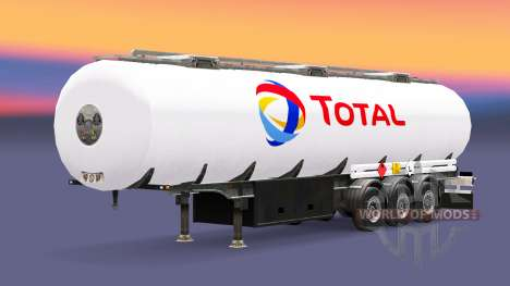 Fuel semi-trailer Total for Euro Truck Simulator 2