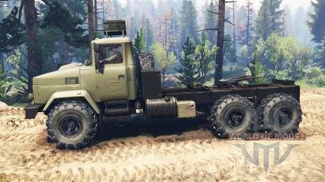 KrAZ-6322 v2.0 for Spin Tires