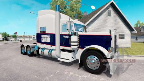 Skin National Guard for the truck Peterbilt 389 for American Truck Simulator