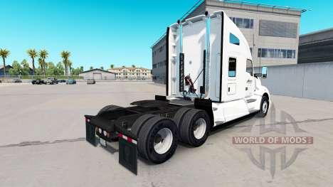 Skin at Arnold Transportation Kenworth tractor for American Truck Simulator