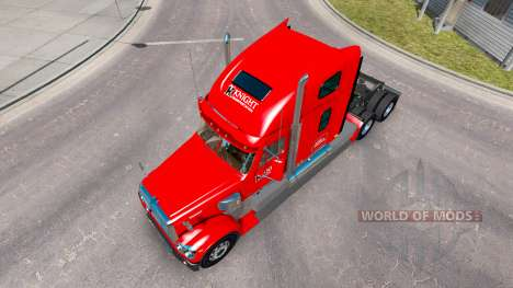 Skin Knights on the tractor Freightline Coronado for American Truck Simulator