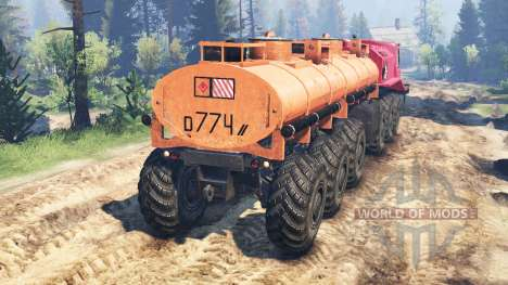 MZKT-79191 for Spin Tires