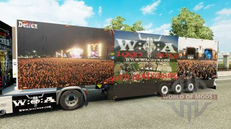 Semi-Trailer Schmitz Cargobull 25 Jahre Wacken for Euro Truck Simulator 2