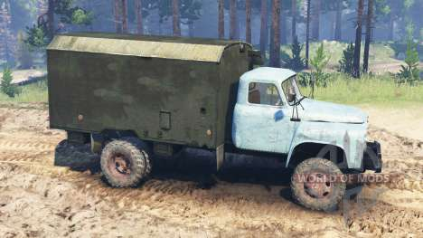 GAZ-52 4x4 for Spin Tires