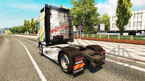 Skin Euro Logistics at Volvo trucks for Euro Truck Simulator 2