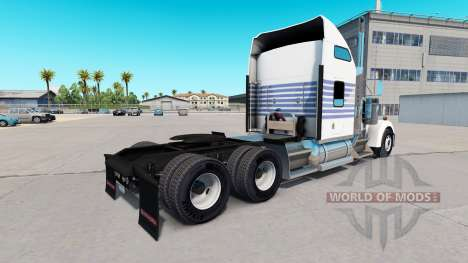 Skin Classic Stripes on the truck Kenworth W900 for American Truck Simulator