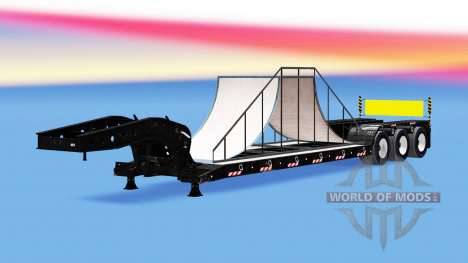 Low sweep with 20 different loads. for American Truck Simulator