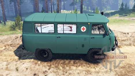 UAZ-39621 for Spin Tires