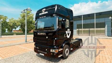 Skin Scania V8 truck Scania for Euro Truck Simulator 2