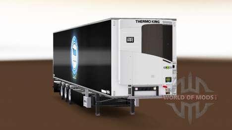 Semi-trailer Chereau Hertha BSC for Euro Truck Simulator 2
